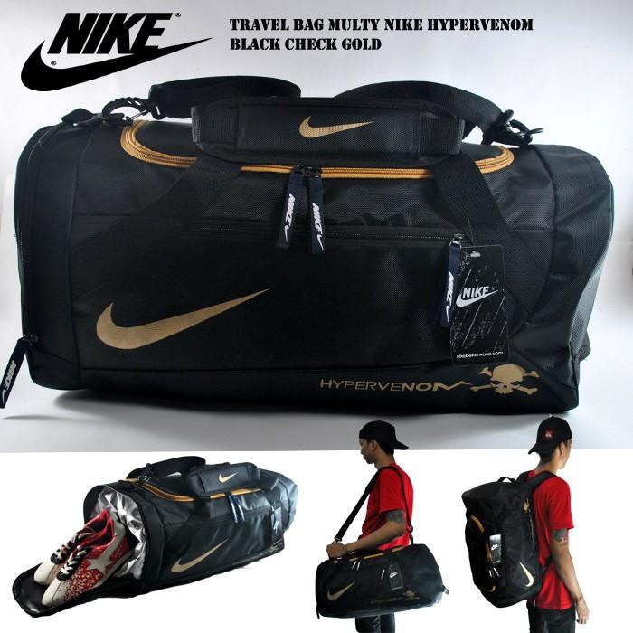 harga Tas olahraga nike travelbag hypervenom multy hitam gold Tokopedia.com