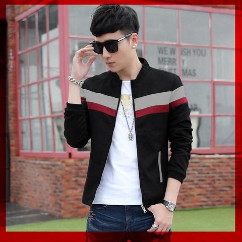 harga Jaket pria keren babby terry black man jacket korean style 2017 Tokopedia.com