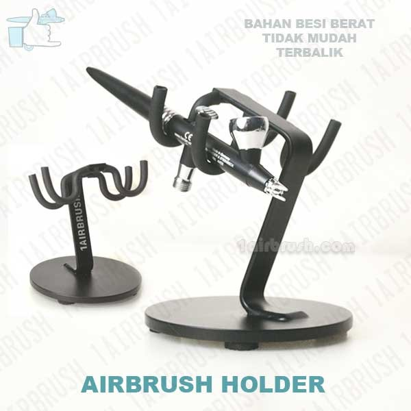 harga Airbrush holder - stand airbrush - dudukan airbrush Tokopedia.com