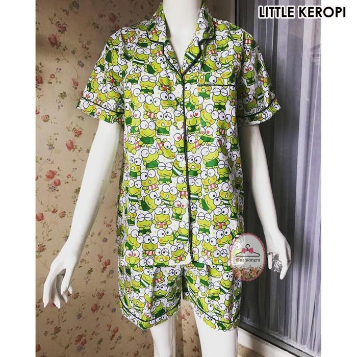 harga Piyama baju tidur celana pendek (little keropi) Tokopedia.com