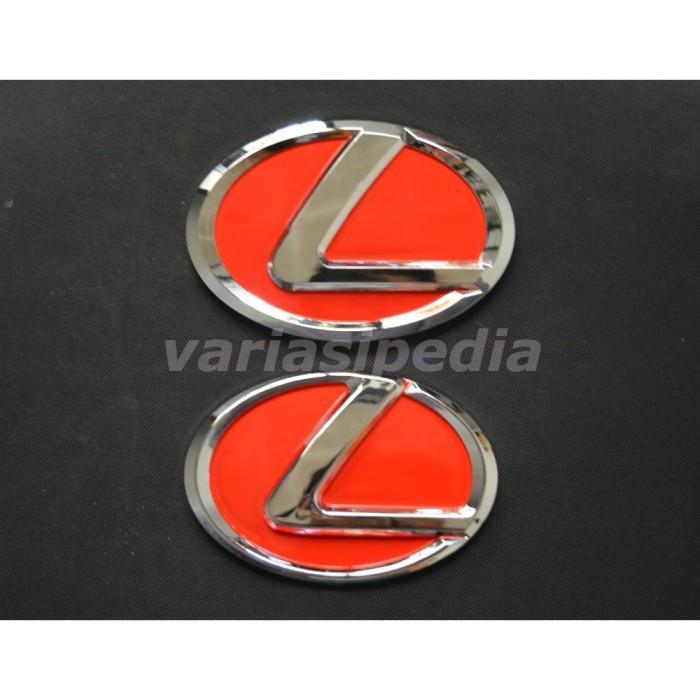 harga Emblem lexus merah all new avanza/ all new xenia 2012-2015 Tokopedia.com