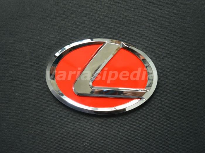 harga Emblem logo lexus merah 14 cm Tokopedia.com