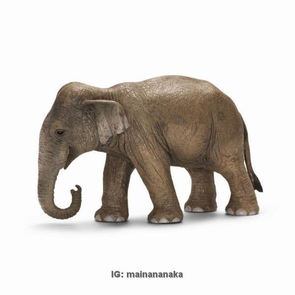 harga Figure/miniatur/pajangan/boneka/patung leich gajah asia betina Tokopedia.com