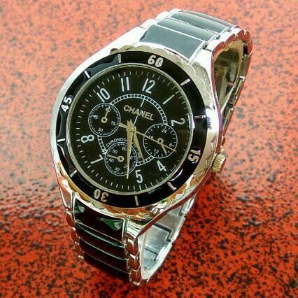 harga Pusat grosir jam tangan pria / jam tangan chanel pria Tokopedia.com