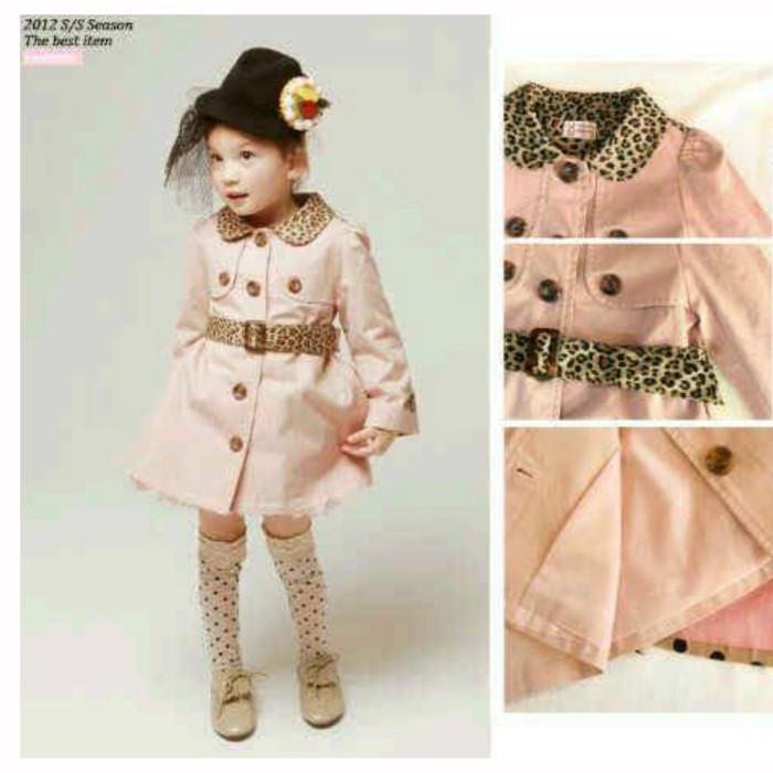harga Jv-30119 jacket blazer coat anak korea premium impor - leopard Tokopedia.com