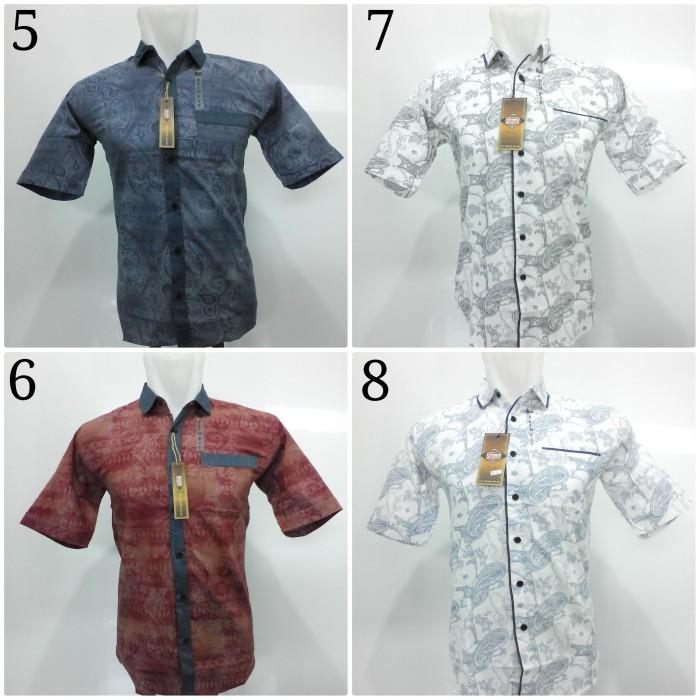 Jual Kemeja Batik Pria   Baju Batik Pekalongan   Atasan Hem Pria ... 811f20c1c2