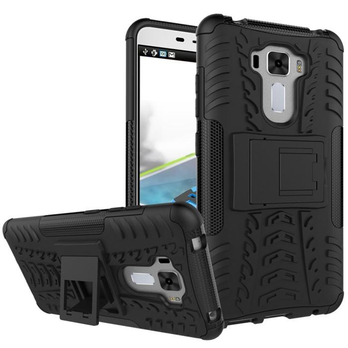 Foto Produk ASUS Zenfone 3 Laser ZC551KL Armor Case XPHASE 2 Soft Gel Case dari Megascarlet