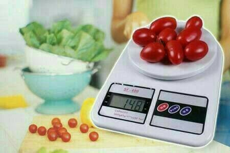 Foto Produk timbangan dapur digital sf400 kapasitas 10kg dari evencio shop