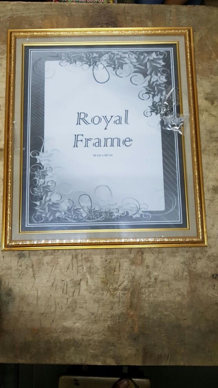 Jual Bingkai Pigura Frame Foto 20R 24R 50x60 Cm Linen Murah Jakarta Barat Kadutt S Shop