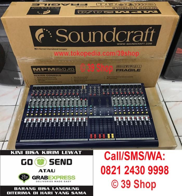 harga Mixer audio soundcraft mpm 24/4 (24 channel) grade a sound mixer Tokopedia.com