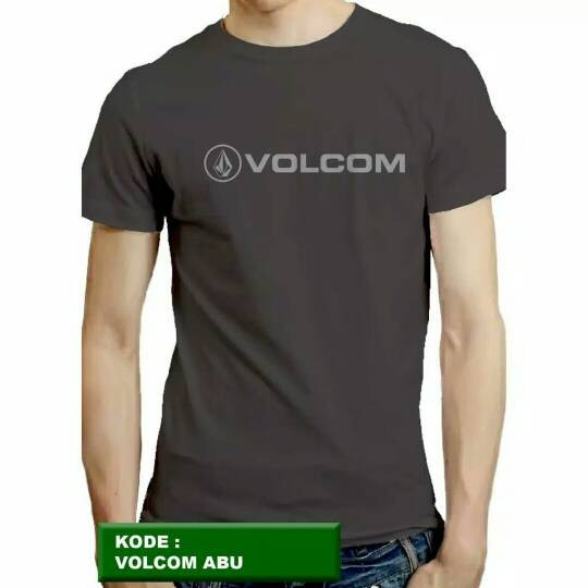 ... Harga Kaos Distro Naydayna T shirt Marketing Hitam PriceNia com Source Kaos t shirt volcom abu