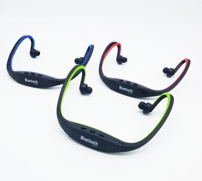 harga Headset all in 1 - wireless bluetooth + slot kartu memori + radio fm Tokopedia.com
