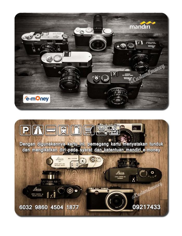 harga Kartu emoney mandiri etoll e-money e-toll kamera leica camera Tokopedia.com