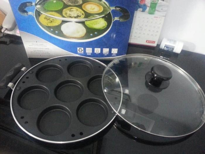 Cetakan Kue Lumpur - Martabak Mini 7 lubang - Galaxy Pancake