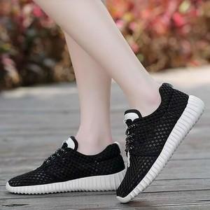 Jual Kets Jaring Sepatu Casual Wanita Tb 682 Hitam Jakarta