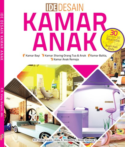 harga Ide desain kamar anak- r.r. vicky ariyanti  andie a. wicaksono Tokopedia.com