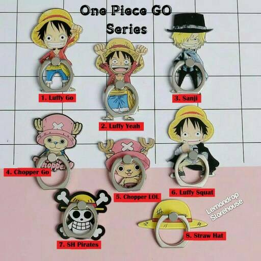 harga Iring stand ring stent holder one piece go hp luffy chopper pirates Tokopedia.com