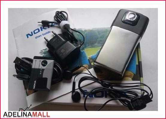 Foto Produk [Original] Nokia N91 Dark Grey Chrome 8GB - Nokia Original - HP Nokia dari ADELINA MALL