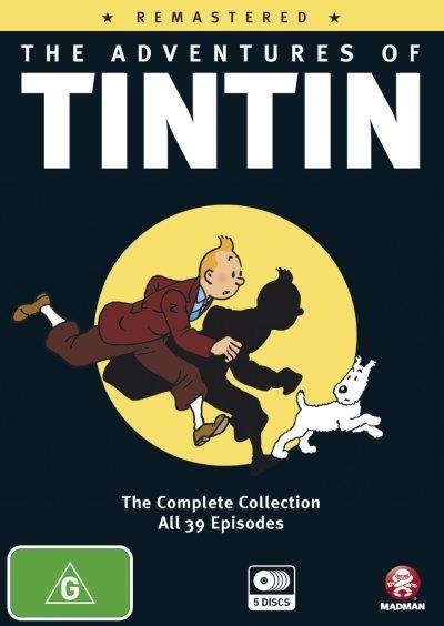 harga The adventures of tintin 1991 complete series Tokopedia.com