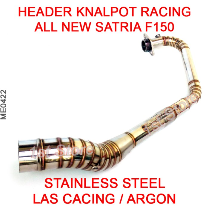 harga Header pipa knalpot racing all new satria f150 fu fi injeksi injection Tokopedia.com