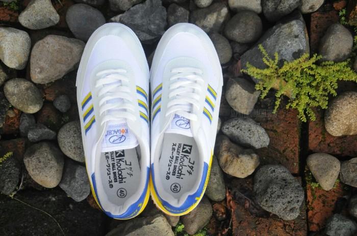 harga Sepatu capung kodachi 8116 kuning biru ukuran - badminton volley Tokopedia.com