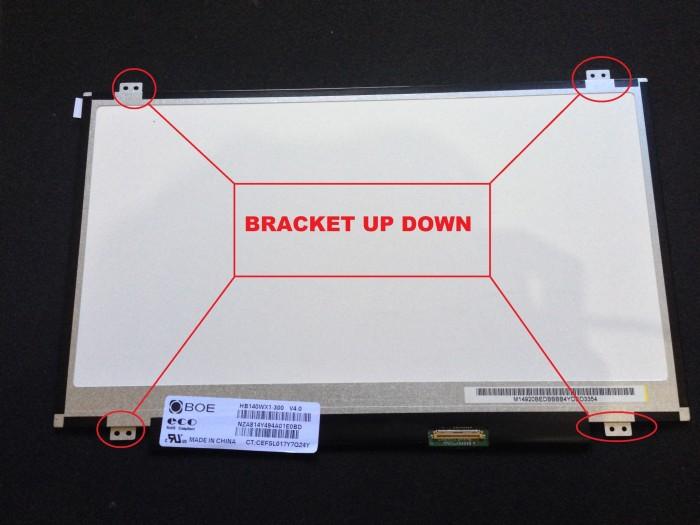 harga Layar led lcd laptop 14.0 slim 40pin kuping atas bawah 14040ud Tokopedia.com
