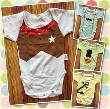 KAZEL BODYSUIT BOYS 4IN1