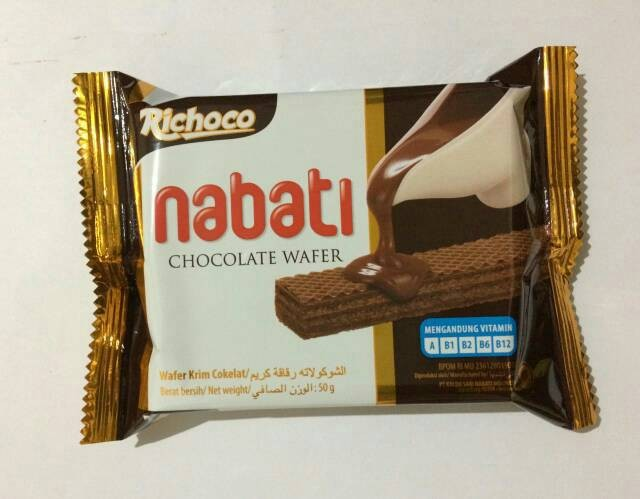 Richoco Nabati Chocolate Wafer - 1 Pcs