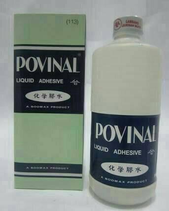 harga Lem povinal slime clear glue cair 500ml Tokopedia.com