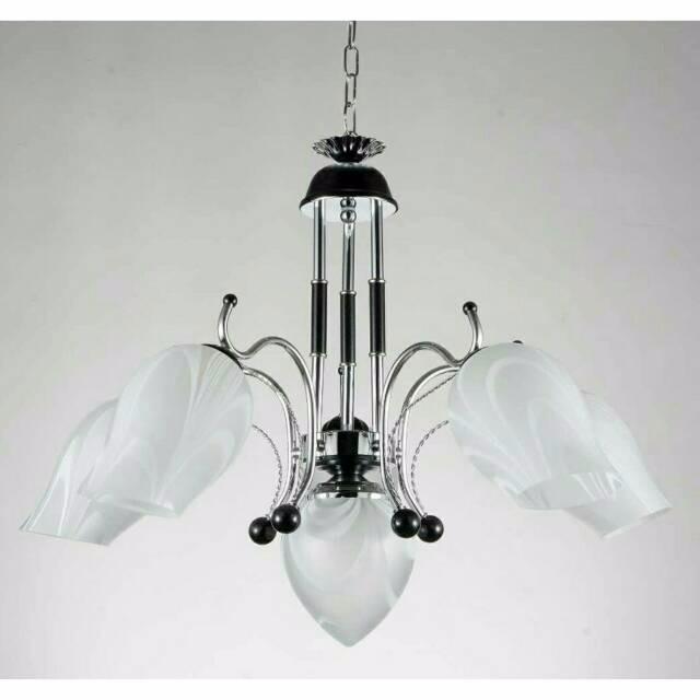 harga Lampu hias gantung minimalis cabang 5 cocok untuk ruang tamu keluarga Tokopedia.com