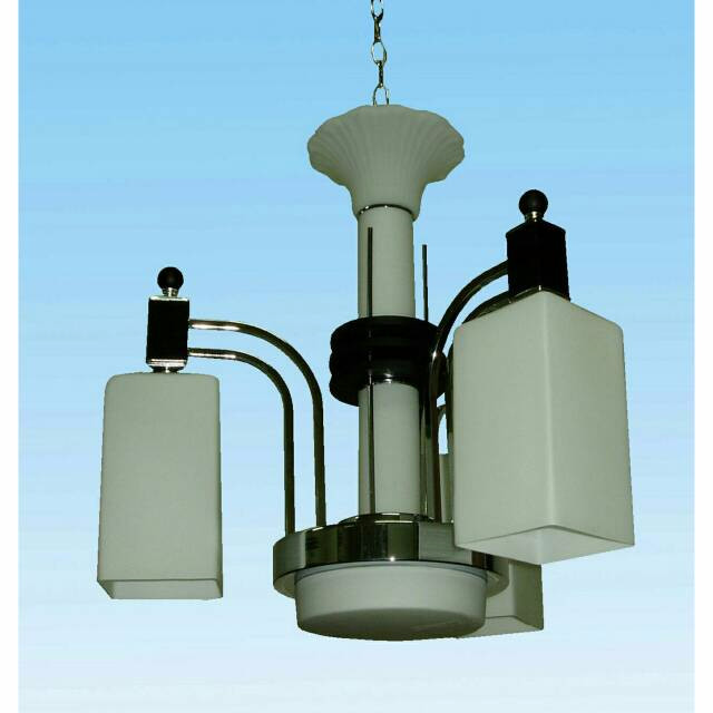 harga Lampu hias rumah istana cafe gantung minimalis ukuran 55cm bahan kaca Tokopedia.com