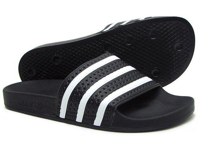 2d9625923 Jual Sendal Adidas Adilette - blk wht -original - Hitam