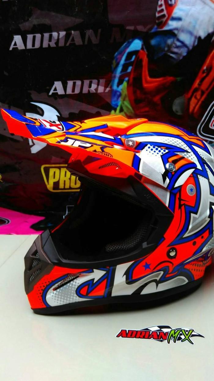 Helm Cross JPX Helm Trail JPX BUKAN INK KYT MDS NHK GM BOGO Helm JPX 3