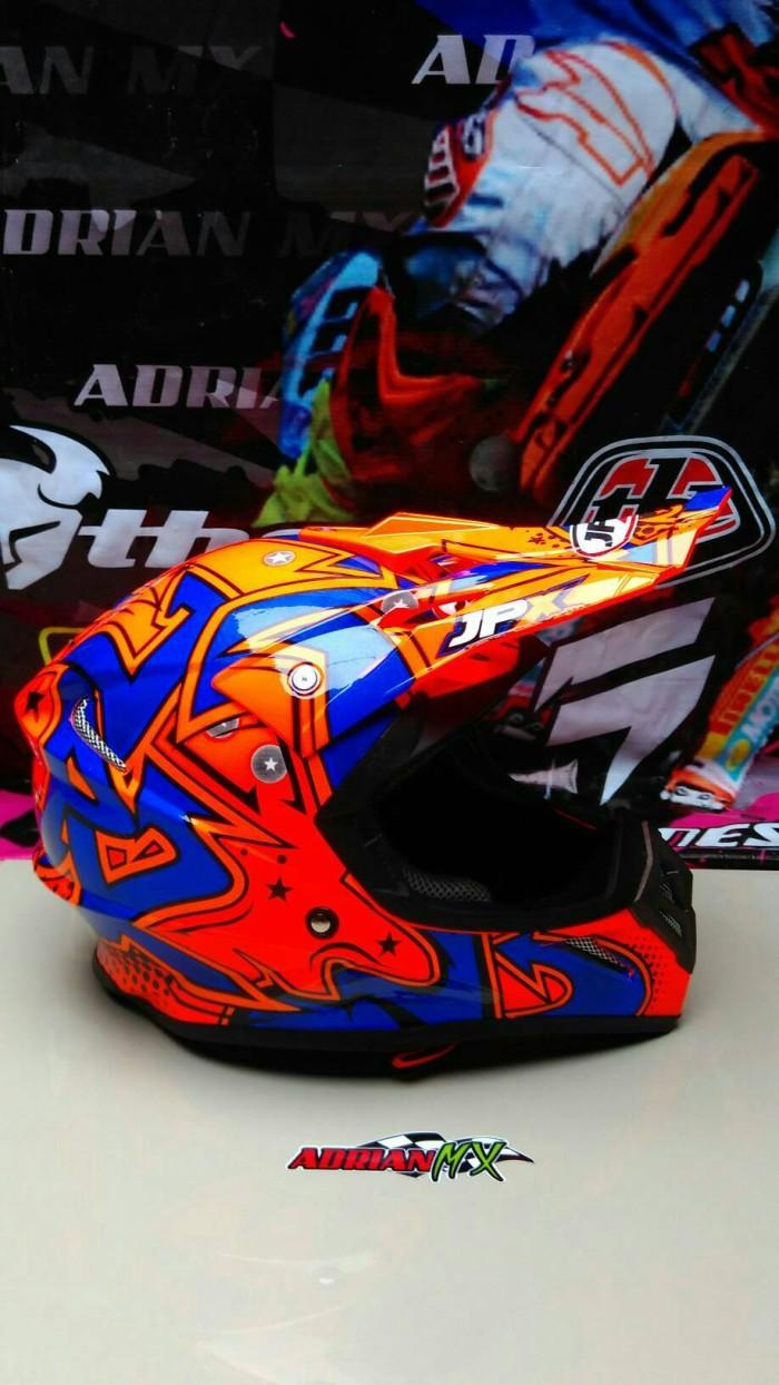 Helm Cross JPX Helm Trail JPX BUKAN INK KYT MDS NHK GM BOGO Helm JPX 2