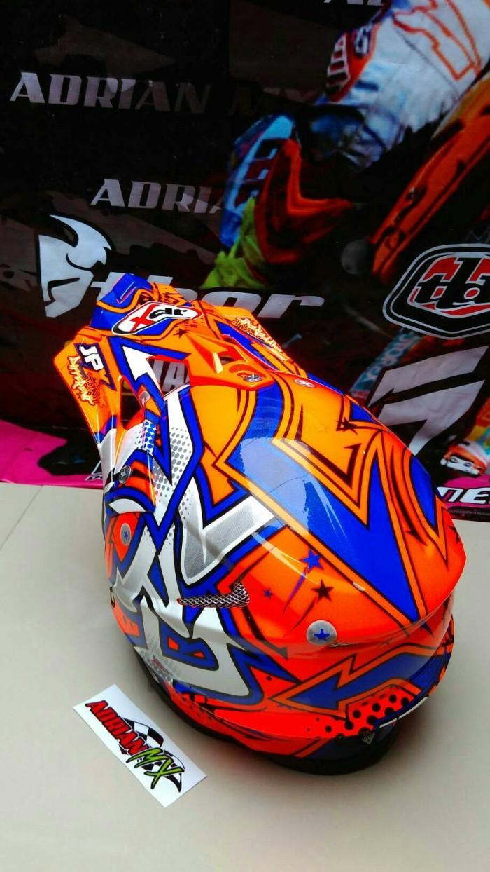 Helm Cross JPX Helm Trail JPX BUKAN INK KYT MDS NHK GM BOGO Helm JPX 1