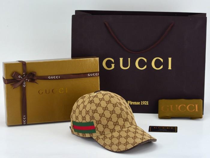 Jual Topi Gucci Canvas GG-Original Web Coklat Tua PHC001 - premium ... e21f5e9d12