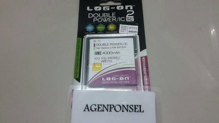 Foto Produk Baterai Log On Lenovo A6000 | Lenovo A6010 Double Power IC Baru dari Toko Murah Group