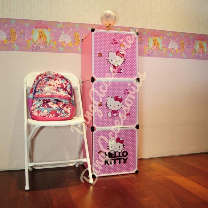 harga 41-1 rak 3 susun hello kitty ( baju sandal sepatu mainan boneka handuk Tokopedia.com