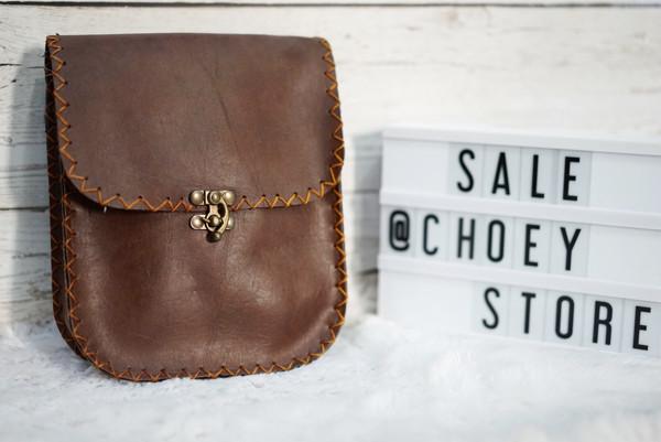 Jual Tas Selempang Kulit Vintage Handmade   leather bag unisex sling ... f8c0d151d3