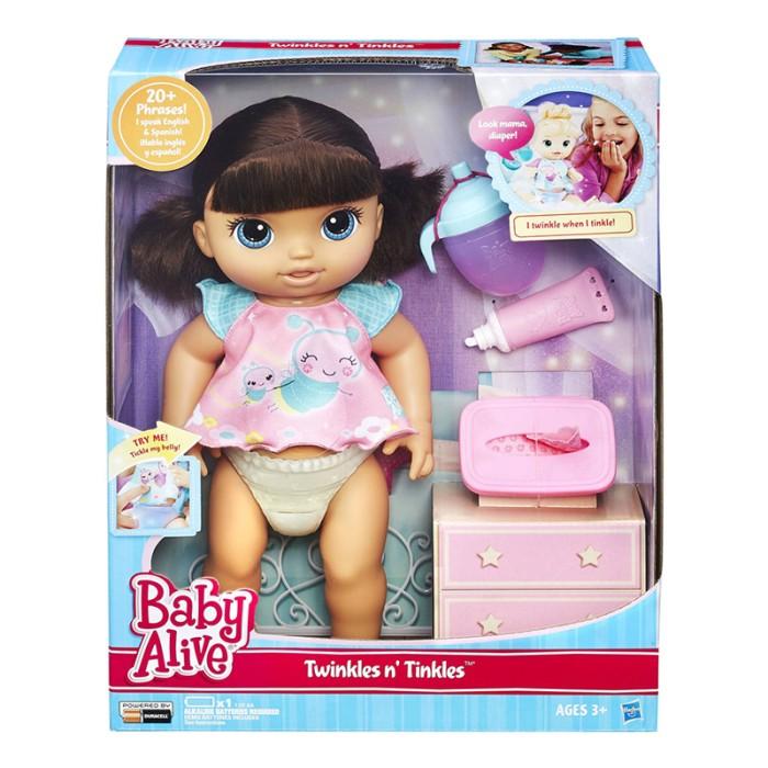 harga Baby alive twinkles n tinkles brunette doll - b6052 Tokopedia.com