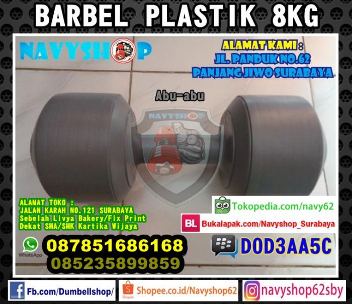 harga Barbel dumbell plastik barbell dumbel 8kg surabaya Tokopedia.com