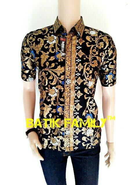harga Kemeja hem batik pria daun rambat prodo ekslusive fashion pekalongan  Tokopedia.com cef55e03e2