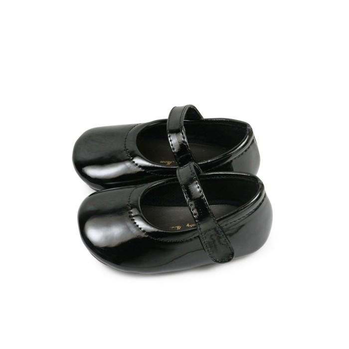 harga Sepatu bayi perempuan tamagoo-mischka black baby shoes prewalker murah - 6-9 bulan Tokopedia.com