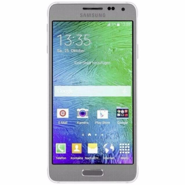 Foto Produk Samsung Galaxy Alpha G850F Garansi Resmi Sein 1 Tahun dari Rejeki-ON