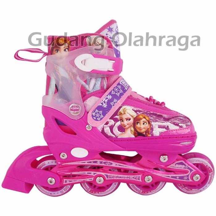 Jual Sepatu Roda FROZEN Light Pink   Inline Skate FROZEN Lig Produk ... c2c07df64c