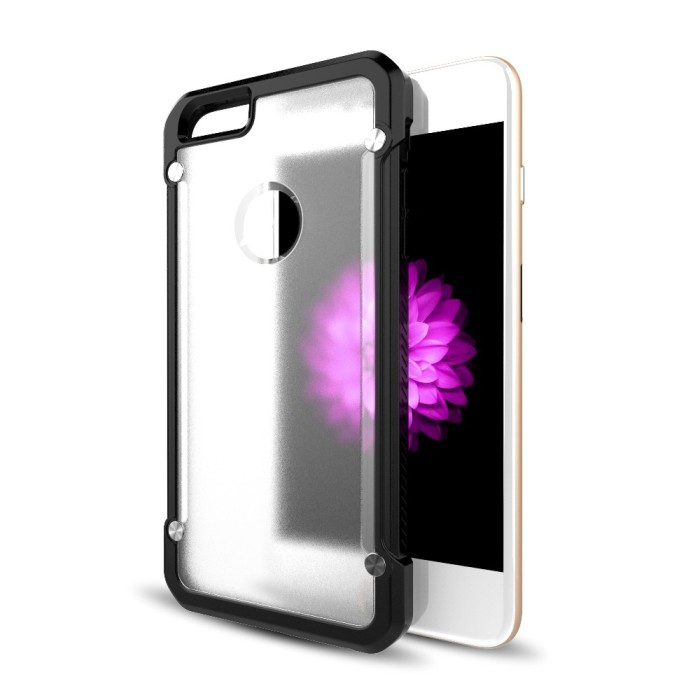 Clear TPU Soft Case Armor Bumper Hybrid Case for iPhone 5 5S SE