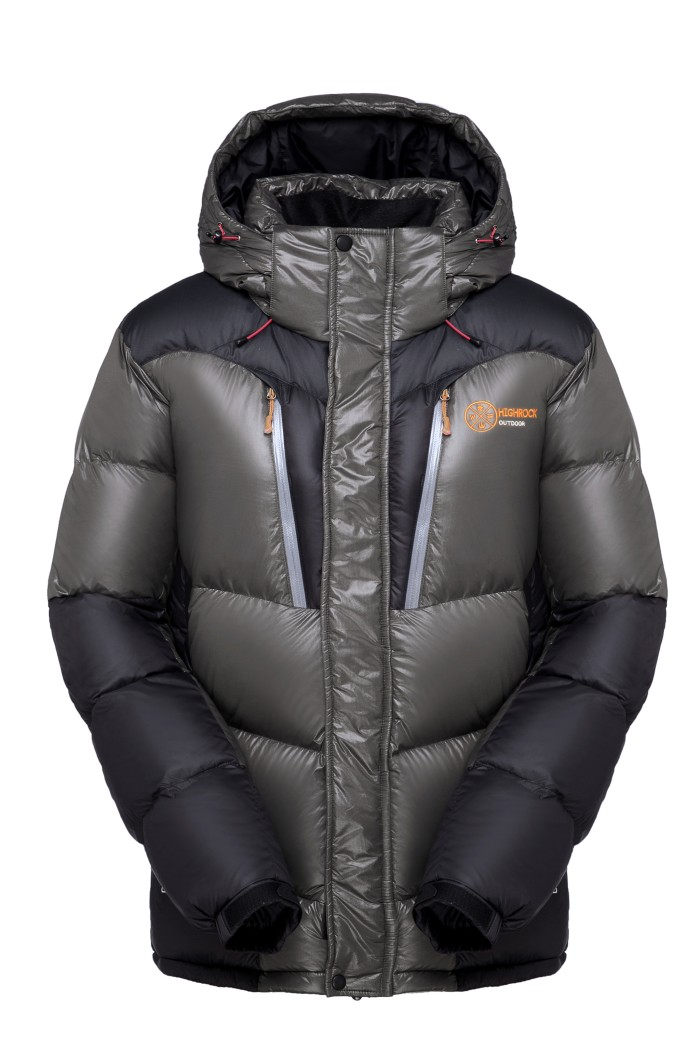 harga Highrock jaket bulu bebek x05 / jaket bubble men (grey) - abu-abu l Tokopedia.com