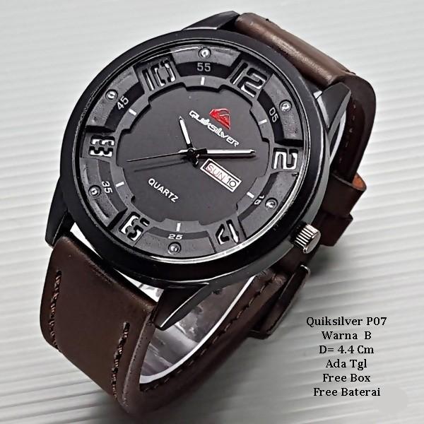 harga Jam tangan pria / jam tangan murah quiksilver max darkbrown color +box Tokopedia.com