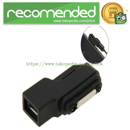 harga Micro usb to magnetic charger adapter for sony xperia z3 /z2 / z1 / z Tokopedia.com