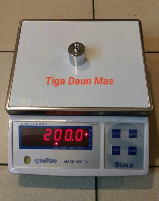 harga Timbangan digital quattro macs-w series Tokopedia.com
